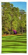 No. 10 Camellia 495 Yards Par 4 Beach Towel
