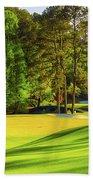 No. 11 White Dogwood 505 Yards Par 4 Beach Towel