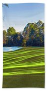 No. 5 Magnolia 455 Yards  Par 4 Beach Towel