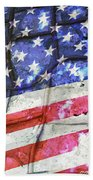 No Matter What Divides Us Beach Towel