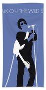No068 My Lou Reed Minimal Music Poster Beach Sheet