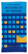 No464 My The Secret Succes Minimal Movie Poster Beach Towel