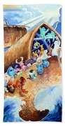 Noahs Ark Beach Towel