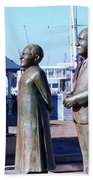 Nobel Square  /  To Honor South Africa's Four Nobel Peace Prize Laureates Beach Towel