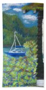 Noble Cottage At The Lake Beach Towel
