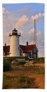 Nobska Lighthouse Beach Towel