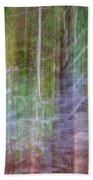 Noland Creek Abstract 1 Beach Towel