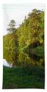 Nore Reflections I Beach Towel