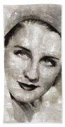 Norma Shearer, Actress Beach Towel