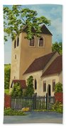 Norman Church In Fingest Beach Towel