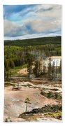 Norris Geyser Basin Beach Towel