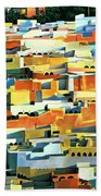 North African Townscape Beach Towel by Robert Tyndall