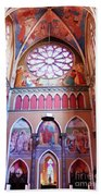 North Aisle - Sanctuary In Osijek Cathedral Beach Towel