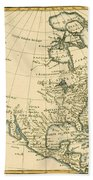 North America Beach Towel