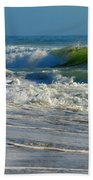 North Atlantic Splendor Beach Towel