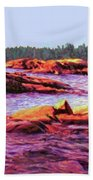 North Channel Islands Beach Towel