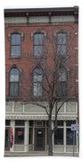 North Country Main Street Of Gouverneur, New York Beach Towel