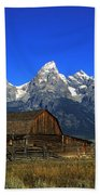 North Moulton Barn Grand Tetons Beach Towel