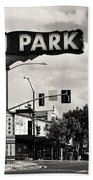 North Park San Diego Beach Towel