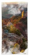 North Rim Of The Grand Canyon Beach Towel