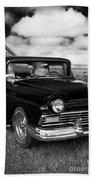 North Rustico Vintage Car Prince Edward Island Beach Towel