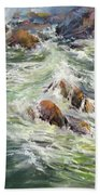 North Shore Drama Beach Towel