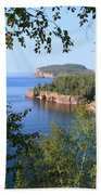 North Shore Lake Superior Beach Towel
