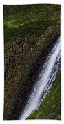 North Table Mountain Falls Beach Towel