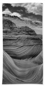 Northern Arizona Desert Swirls Beach Towel
