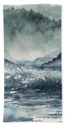 Northern California Coast Beach Towel