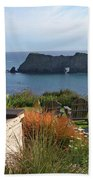 Northern California Coast View Beach Towel
