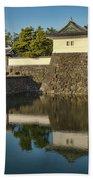 Northern Gate Of Edo Castle Beach Towel
