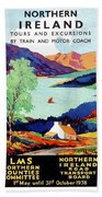 Northern Ireland, Scenery, Tours And Excursions Beach Towel