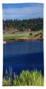 Northern New Mexico Lake Beach Towel