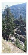 Northern Rockies Missoula  Montana  Beach Towel