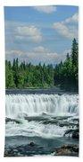 Northern Waterfall Beach Towel