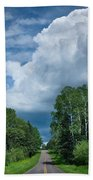 Northwoods Road Trip Beach Towel