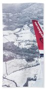 Norwegian Aerial Beach Towel