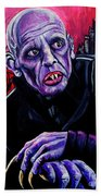 Nosferatu Beach Towel