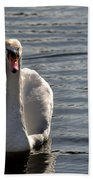 Not Another Swan Beach Towel
