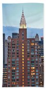 Not The Chrysler Building Nyc Beach Towel