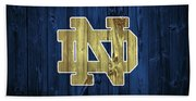 Notre Dame Barn Door Beach Towel