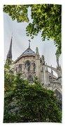 Notre Dame Cathedral - Paris, France Beach Towel