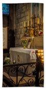 Notre Dame Chapel Beach Towel