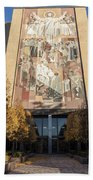 Notre Dame Library 2 Beach Towel
