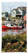 Nova Scotia Fishing Community Beach Sheet
