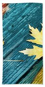 November Beach Towel