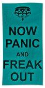 Now Panic 26 Beach Towel