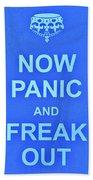 Now Panic 3 Beach Towel
