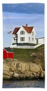 Nubble Light Beach Towel